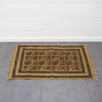 Henna flower rug | TradeAid