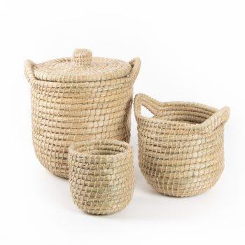 Kaisa jute basket (set of 3) | TradeAid