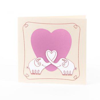 Elephant love card | TradeAid