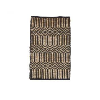 Small deco diamond rug | TradeAid