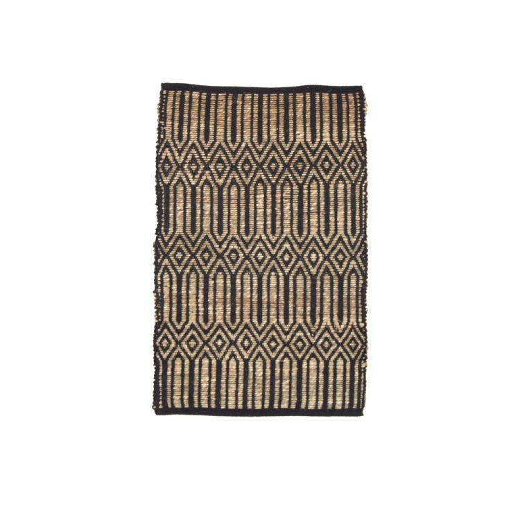 Extra small deco diamond rug | TradeAid