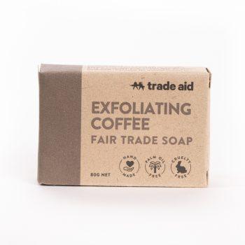 Coffee exfoliating soap | TradeAid