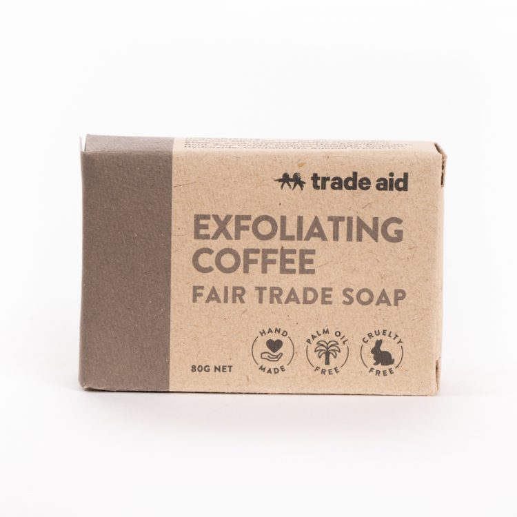 Exfoliating coffee soap | TradeAid