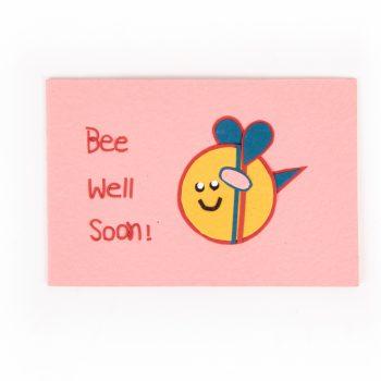 Bee well soon card | TradeAid