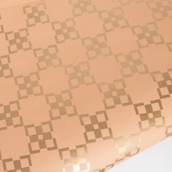 Gold geometric paper | TradeAid