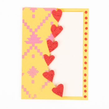 Heart collage card | TradeAid